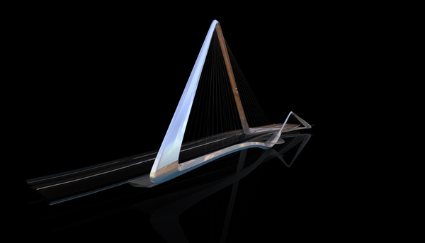 974b85c347452c78c577a8930354f0de Infinity Loop Bridge by 10 Design and Buro Happold