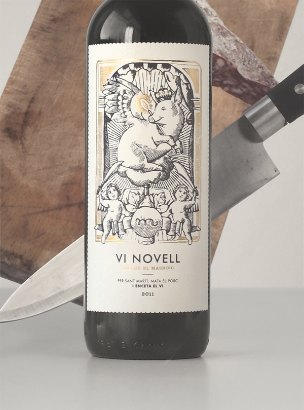 40 Creative Wine Label Designs Inspirationfeed Part 2
