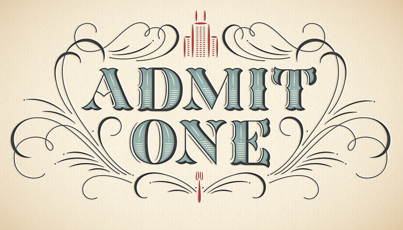 admitone1 20 Robust Typography Artworks by Jessica Hische
