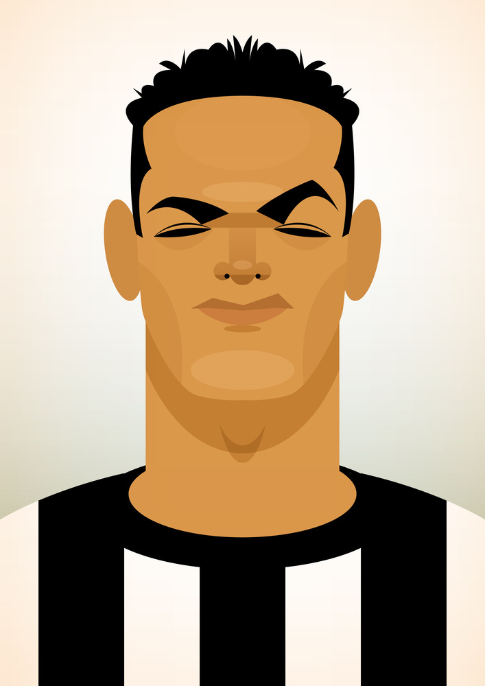 benarfa Famous Footballers Illustrated by Stanley Chow