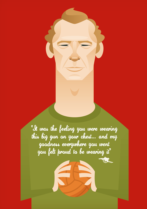 bob2 Famous Footballers Illustrated by Stanley Chow
