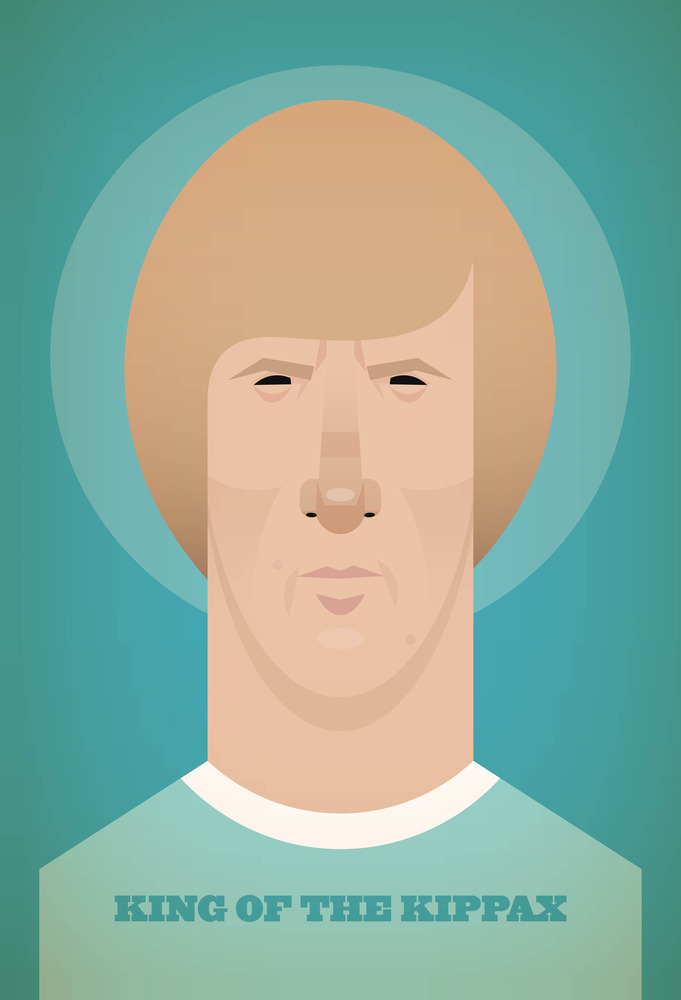 colinbell Famous Footballers Illustrated by Stanley Chow