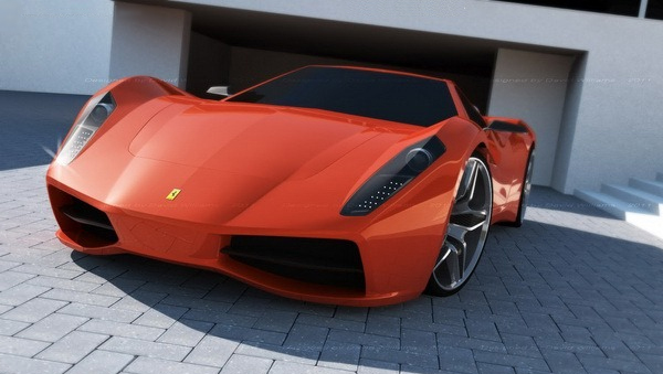 concept ferrari 365 Concept Cars We Might Be Driving in Just 3 Years!