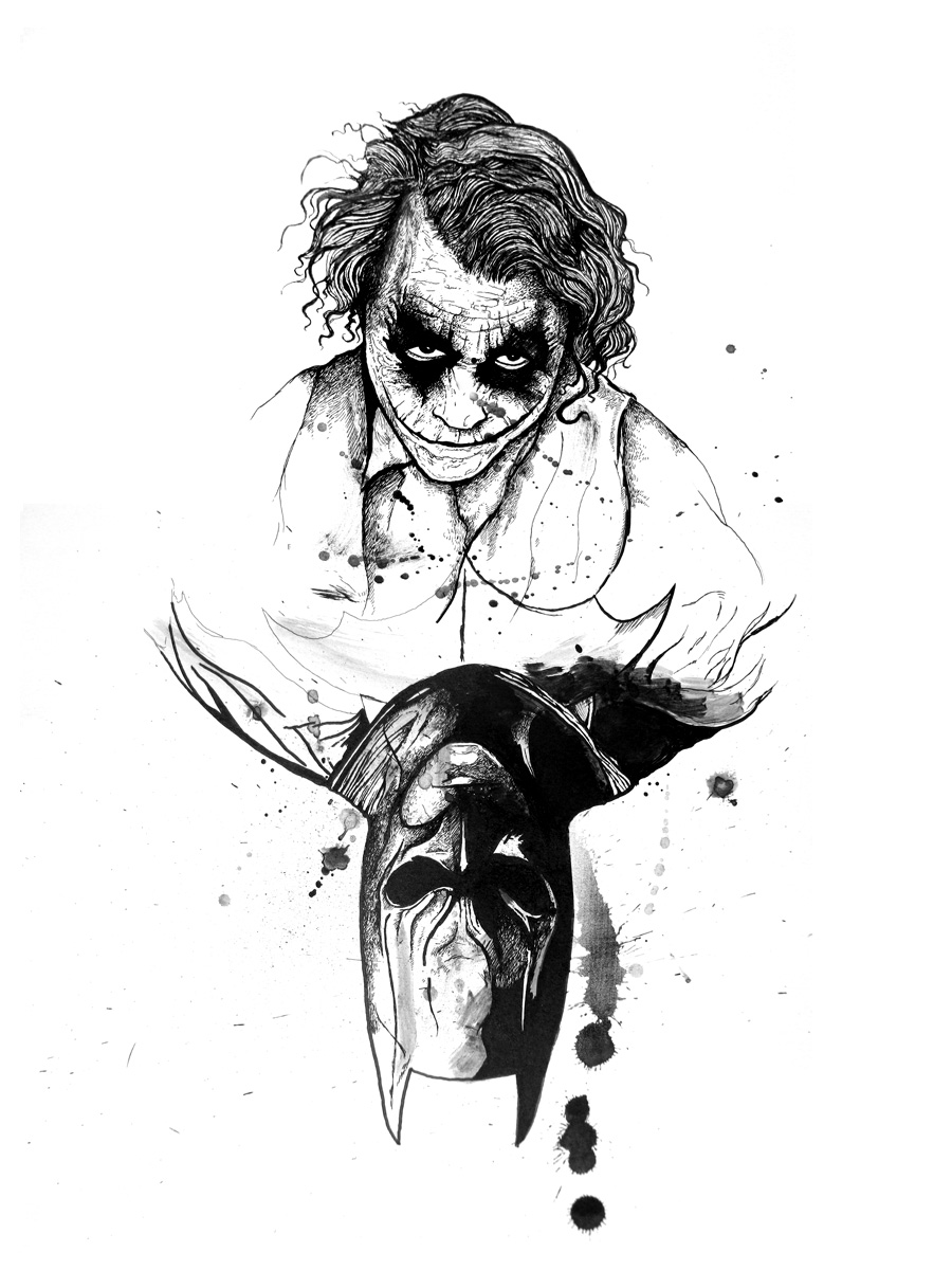duality21 Why So Serious: 30 Incredible Joker Illustrations