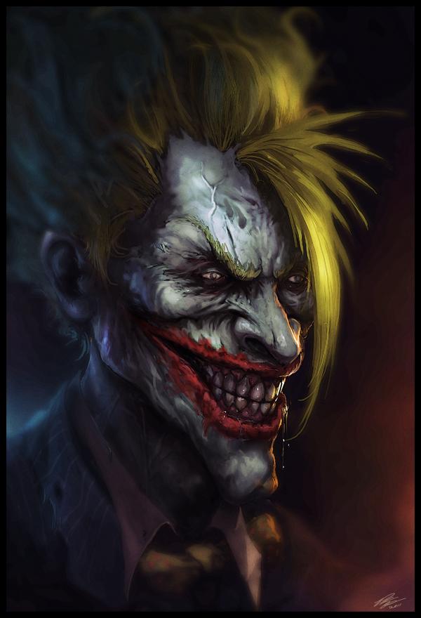 f653e99987fbc653371ab759edfe4ea3 d4671wi1 Why So Serious: 30 Incredible Joker Illustrations