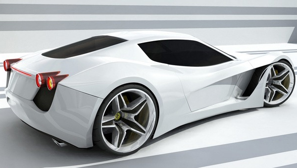 ferrari 365 turin concept painted Concept Cars We Might Be Driving in Just 3 Years!