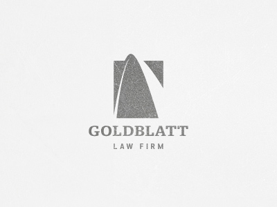 goldblatt21 30 Inspirational Lawyer and Law Logo Designs