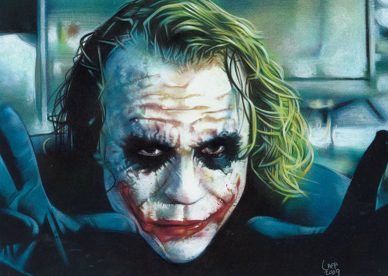 joker by greatart4jeff1 Why So Serious: 30 Incredible Joker Illustrations