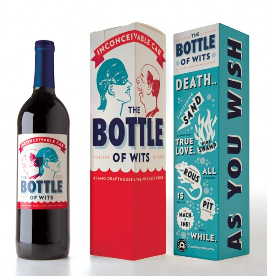 lovley package the bottle of wits1 e13290113499121 40 Creative Wine Label Designs