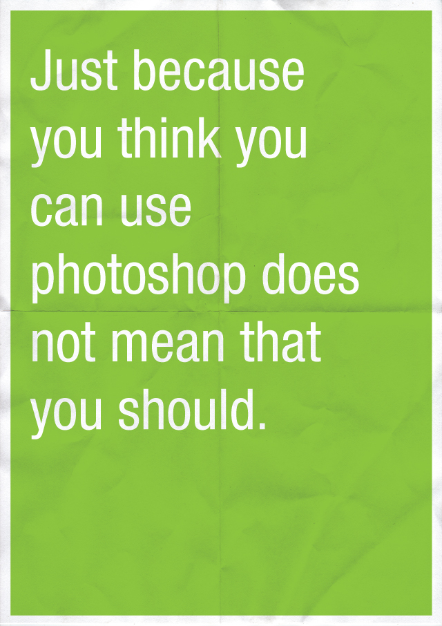 photoshop Confessions of a Designer by Anneke Short