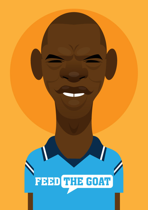 shaungoater Famous Footballers Illustrated by Stanley Chow