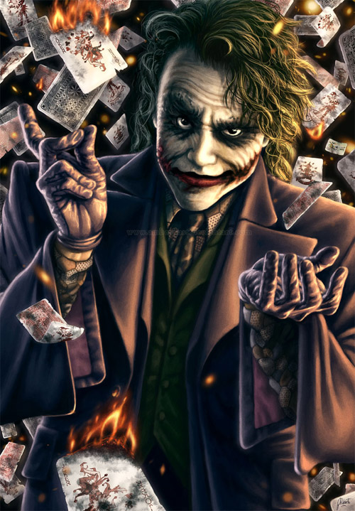 the joker artwork 711 Why So Serious: 30 Incredible Joker Illustrations