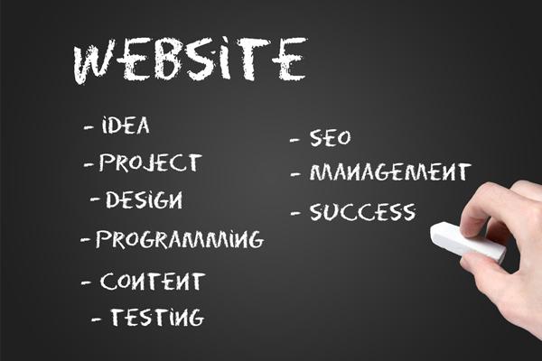 Website writing