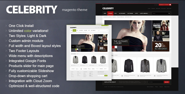 00 preview   large preview1 40 Elite e Commerce Magento Templates