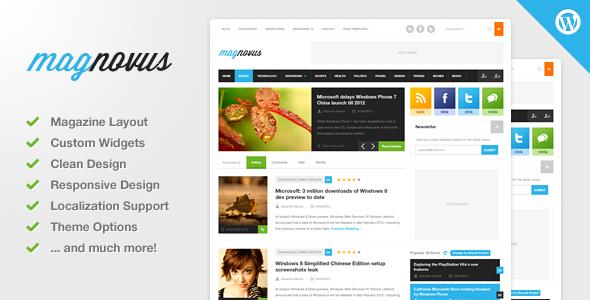 Magnovus - Magazine & News WordPress Theme