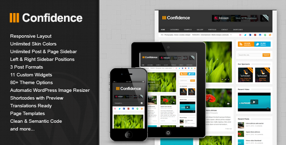 01 preview   large preview15 55 Brilliant Blog and Magazine WordPress Themes