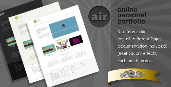 AirWP - Great Minimalist WordPress Theme
