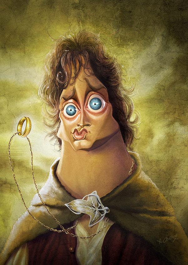 Frodo from LOTR
