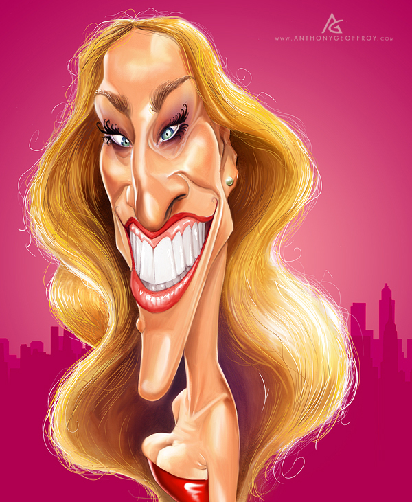 12606012612423371 Hilarious Digital Caricatures by Anthony Geoffroy