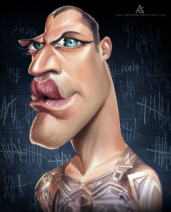 12606012612424861 Hilarious Digital Caricatures by Anthony Geoffroy