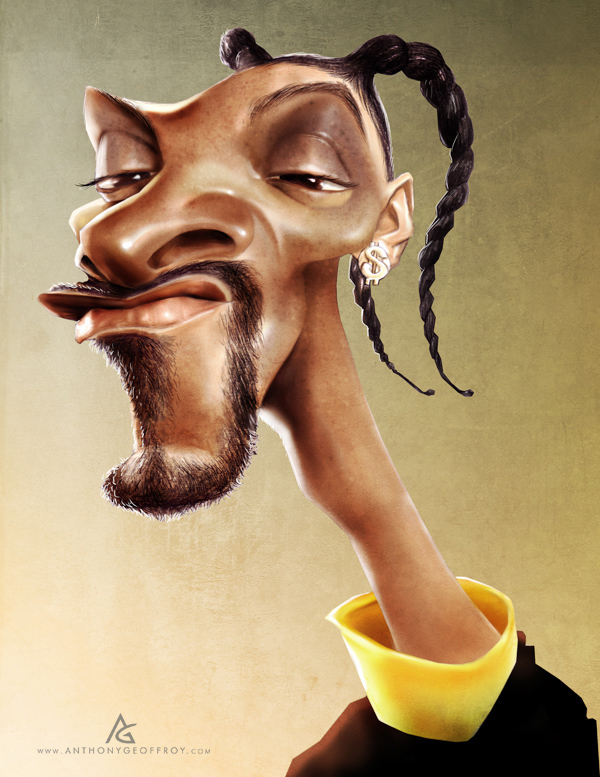12606012612425921 Hilarious Digital Caricatures by Anthony Geoffroy