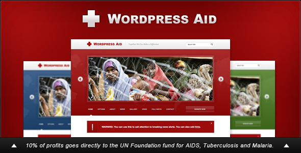 1 preview   large preview11 30 Charity, Non Profit and Donation Wordpress Themes