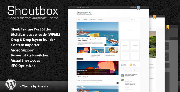 1 preview   large preview14 55 Brilliant Blog and Magazine WordPress Themes