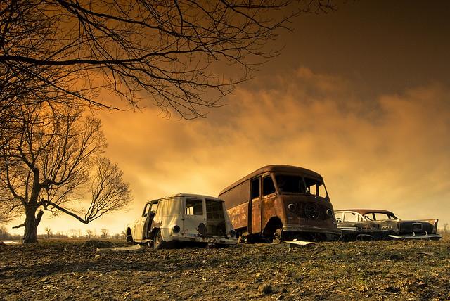 Auto Graveyard by Sean McGrath