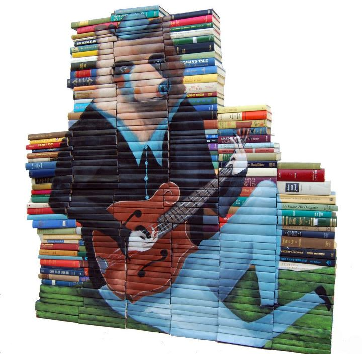 293658 280459475315000 138321987 n Painted Book Sculptures by Mike Stilkey