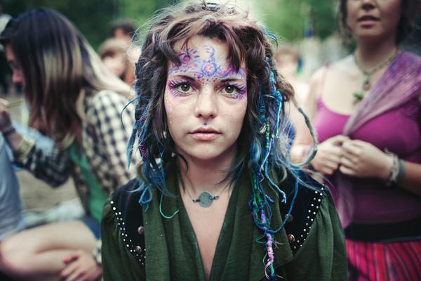 Rainbow Gathering by Benoit Paille