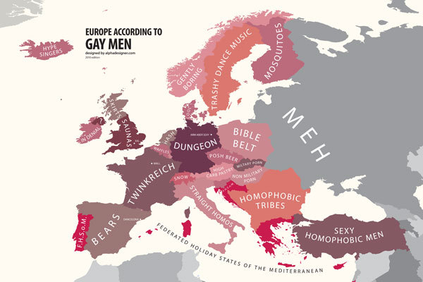 Mapping Stereotypes Project by Yanko Tsvetkov
