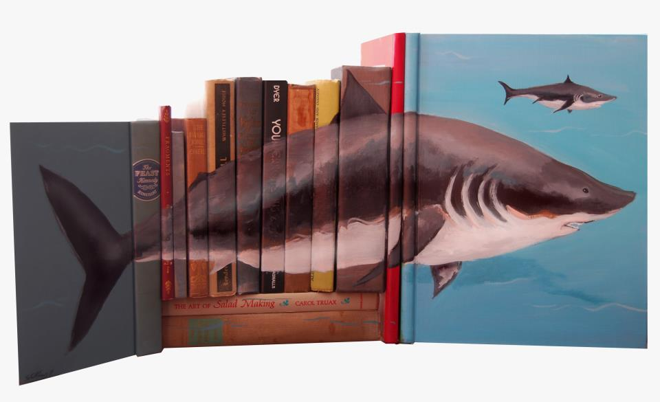 524661 419639721396974 1809337299 n Painted Book Sculptures by Mike Stilkey
