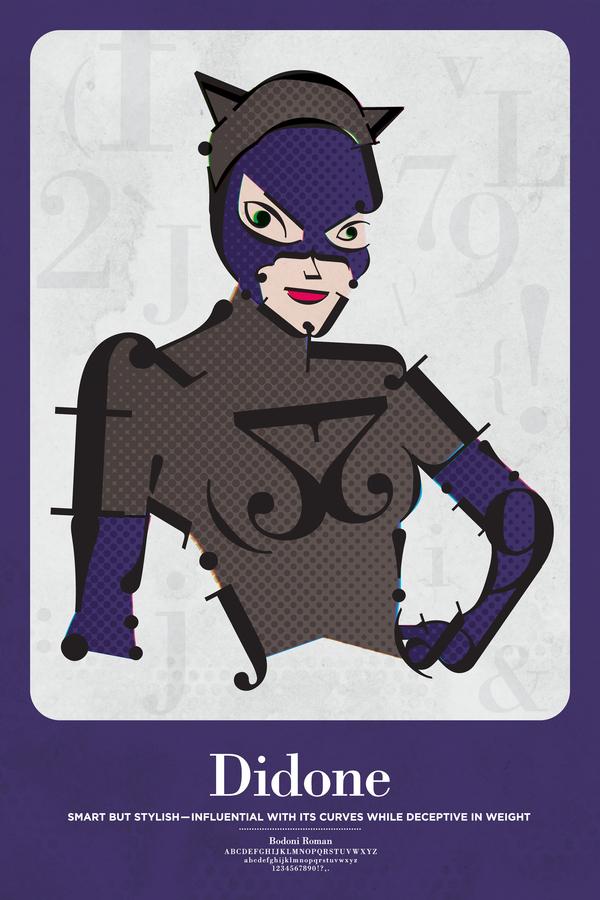 Superhero Typographic Classifications