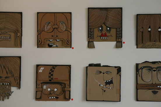 992071243543744 100 Cardboard Project by Berni Valenta