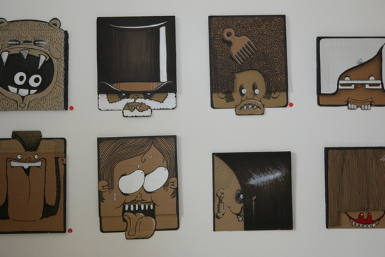 100 Cardboard Project by Berni Valenta