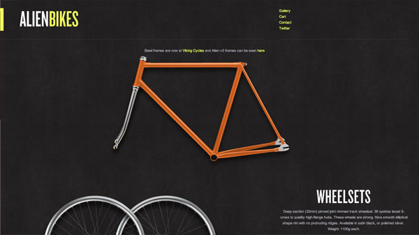 alien1 40 Fresh Web Designs For Your Inspiration