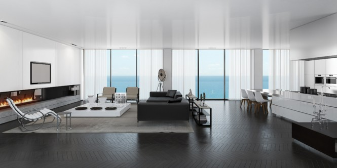 andopenthouse4 665x332 Spectacular Sea View Penthouse in Tel Aviv