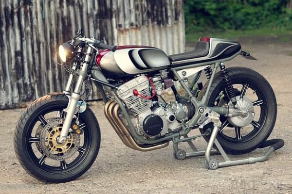 Yamaha XS750 custom by Spirit of the Seventies