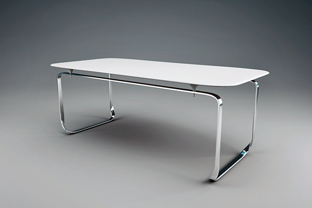 TANTAL | The Flawless Two Part Table By Andrej Cverha