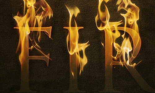 fire1 35 Fresh Text Effect Photoshop Tutorials