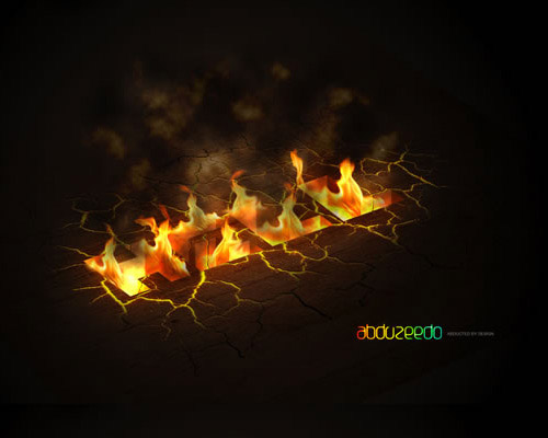 hell1 35 Fresh Text Effect Photoshop Tutorials