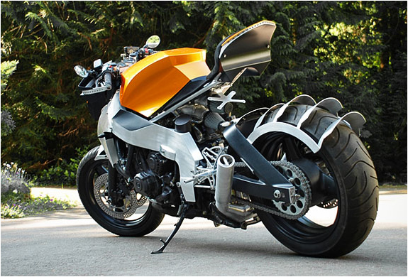 img honda cbr custom1 30 Beautifully Designed Motorcycles