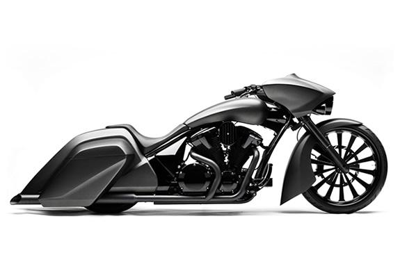 Honda Stateline Slammer Bagger Concept