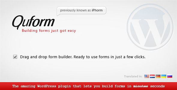 large shot quform1 30 Professional WordPress Plugins for Your Website