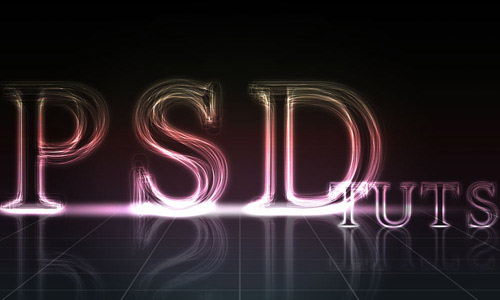 layered growing text1 35 Fresh Text Effect Photoshop Tutorials