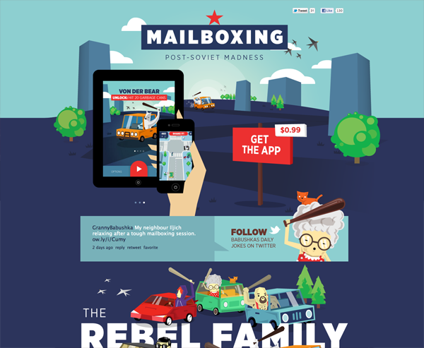 mailboxing1 40 Fresh Web Designs For Your Inspiration