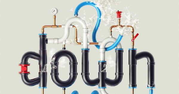 Creating of a Pipe Typography in Photoshop