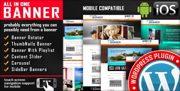 Banner Rotator / Content Slider WordPress Plugin