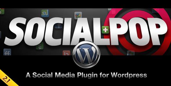 SocialPop: A Social Media Plugin for WordPress