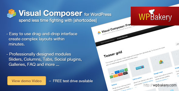 Visual Composer for WordPress